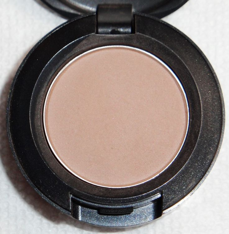 MAC wedge. I like to use this in my crease (I put MAC Vanilla all over my lids and deepen the crease a bit with this one) I love how natural it looks.