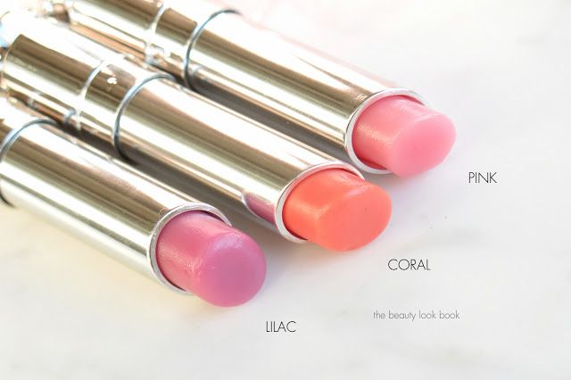 The Beauty Look Book: Dior Addict Lip Glow Color Reviver Lip Balms in Pink, Coral and Lilac
