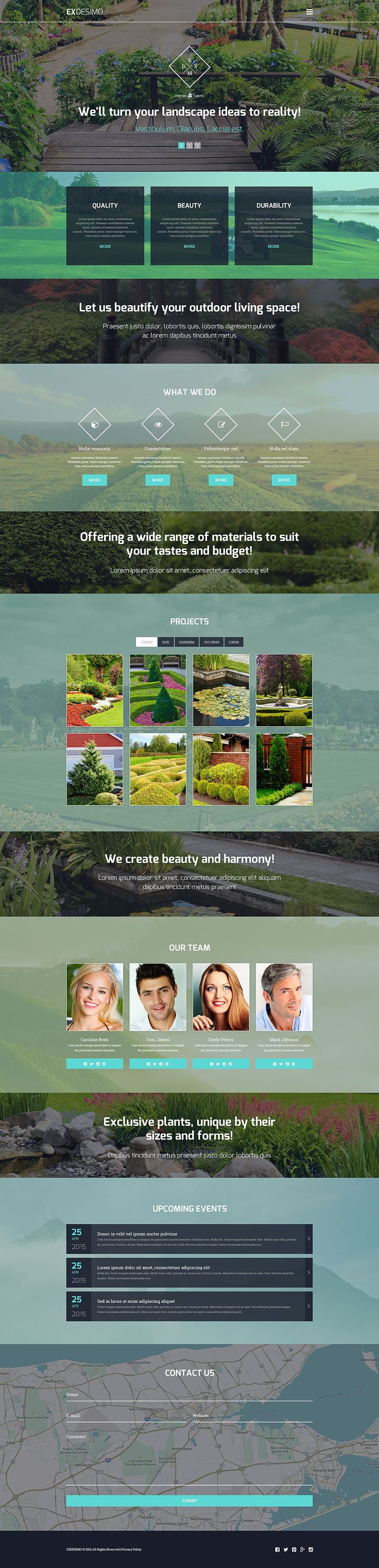 Exdesimo WordPress Theme New Screenshots BIG