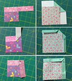 Bewildered about binding? Here's a clever way to remember all those peculiar folds: paper binding that you can cut, fold, and keep as a handy example!