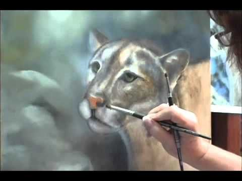How to Paint Fur: Acrylic Painting Techniques:How to Paint Realistic Ani...