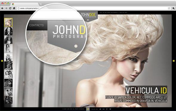 WordPress - J.Doe Responsive Photography Wordpress Theme | ThemeForest