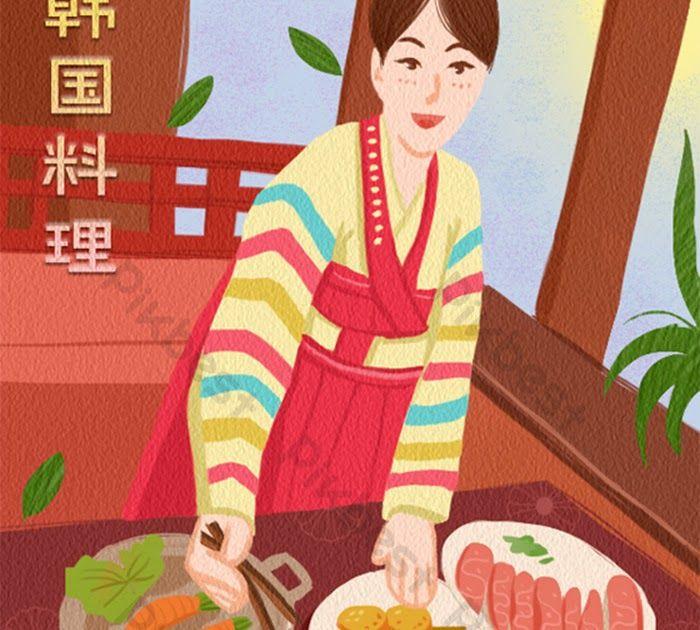 Fantastis 30 Gambar Kartun Korea Yang Lucu Kartun Animasi Lucu Makanan Gourmet Masakan Korea Masakan Download Kartun Korea You Gambar Kartun Kartun Gambar