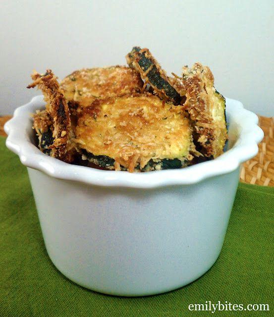 Parmesan zucchini rounds--2 Weight Watchers Points Plus