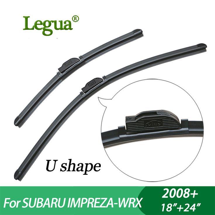 """Legua Wiper blades for Subaru IMPREZA-WRX (2008+),18""""+24"""",car wiper,Boneless, windscreen wiper, Car accessory #Affiliate"""