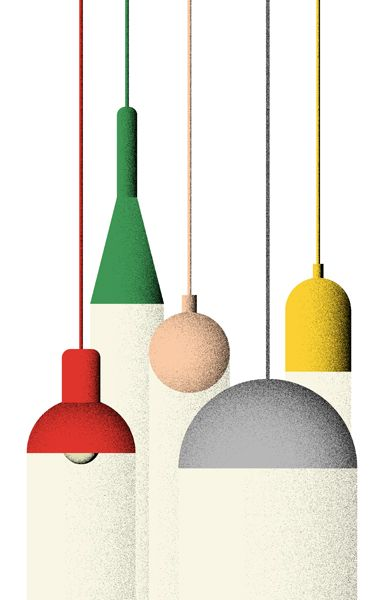 I love the texture. Art by Giacomo Bagnara. #colors #illustration