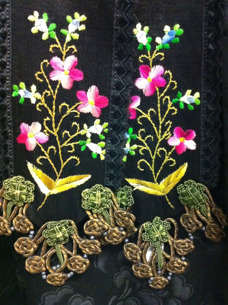 Embroidery from Axel, Zeeland, the Netherlands