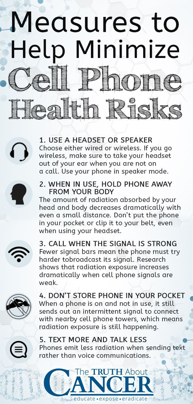 WARNING: Cell phones emit a type of electromagnetic field (EMF ...