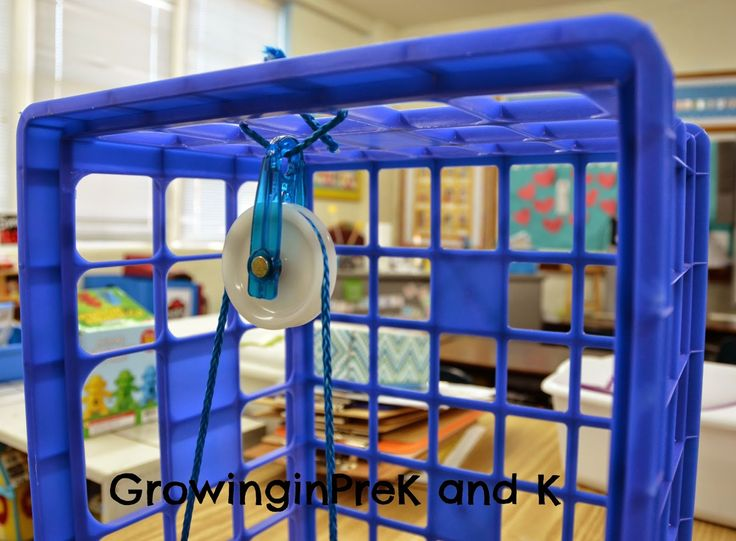 Easy DIY pulley for the classroom & more great simple ...