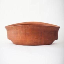 Fuente de madera de Raulí (madera Nativa chilena)