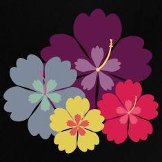 Hibiscus bloemen