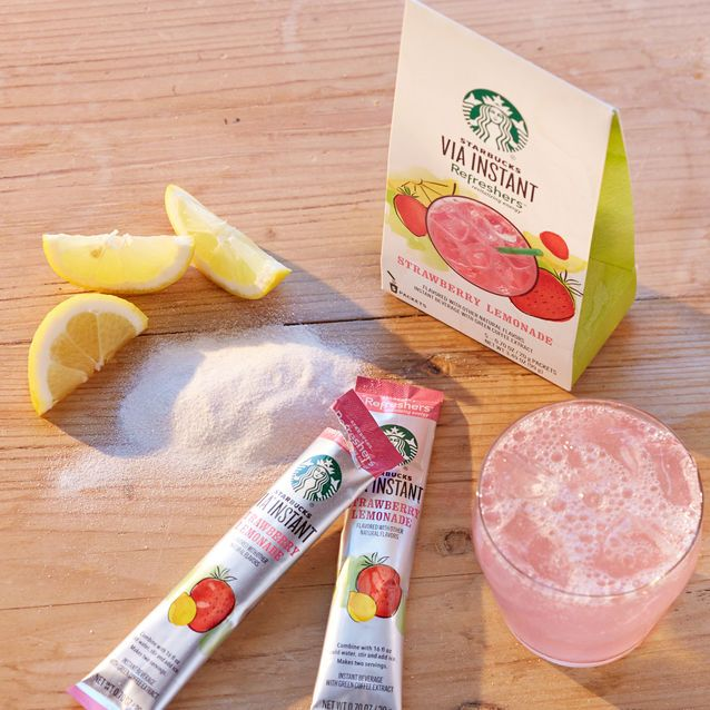 Starbucks Refreshers™ Strawberry Lemonade 6 Drink Mix Packets | Starbucks Store