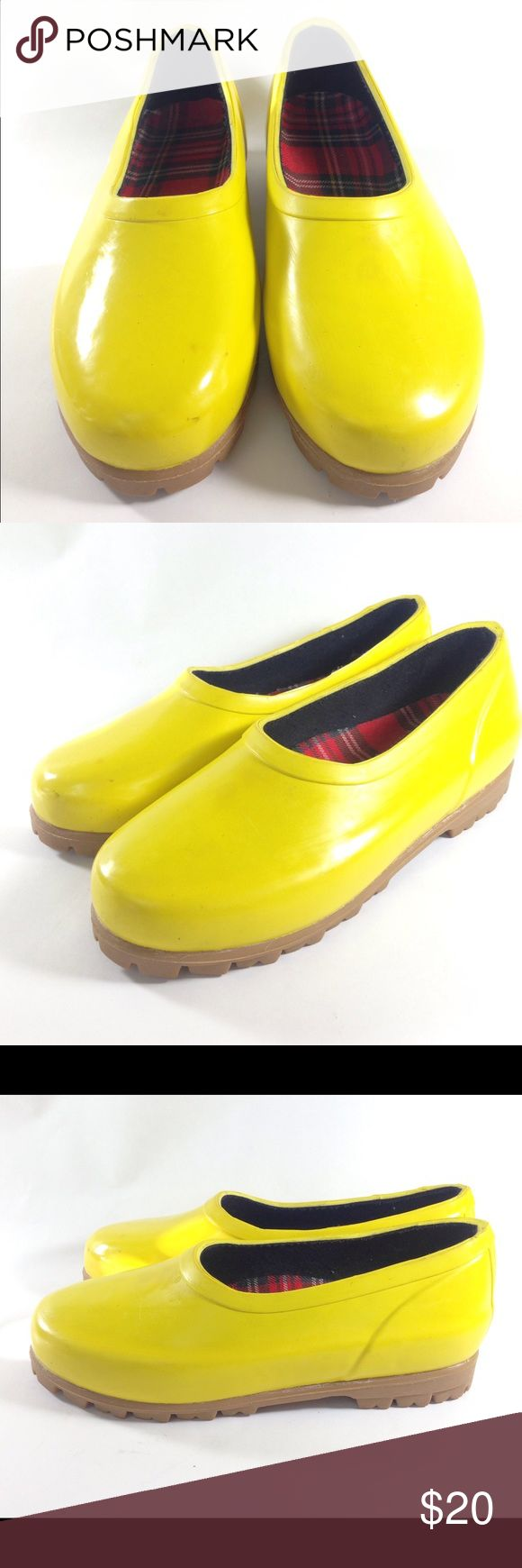 Mid West Yellow Duck Shoes Size 6 ITEM: MidWest Yellow Duck Boots Women's Size 6  CONDITION: Good Condition! Overall signs of wear. Some scuffing.    100% AUTHENTIC AND SATISFACTION GUARANTEED! NO FAKES! NO VARIANTS! PLEASE CHECK OUR EXCELLENT FEEDBACK!  SHIPPING & HANDLING:  *US - Double wrapped with delivery confirmation/signature confirmation if necessary.   SAVE US AS A FAVORITE SELLER!!! CHECK OUR OTHER LISTINGS!  *pictures of actual item(s) you will receive Mid West Shoes Winter & Rain…