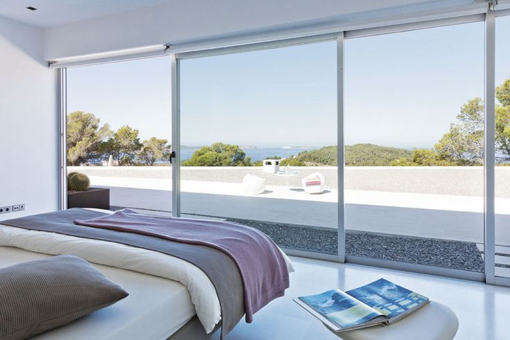 Definitely wouldn't mind my bedroom opening onto this!: Interiors Deco, Esta Villas, Good Home-Coming, House Blue-Clear, Hotels Option, Interiors Design, Ibiza House, Terraza Infinita, Villas Ibicenca