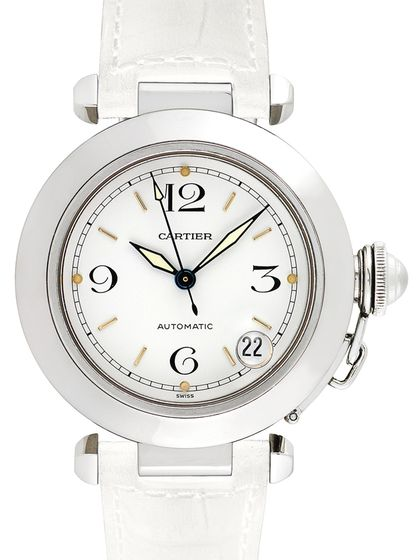 Cartier Pasha C Stainless Steel Watch, 35mm
