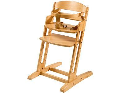 Chaise haute evolutive en bois