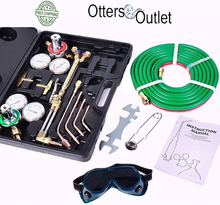 VICTOR Type Gas Welding & Cutting Kit Oxygen Oxy Acetylene Torch Welder Tools #UnbrandedGeneric