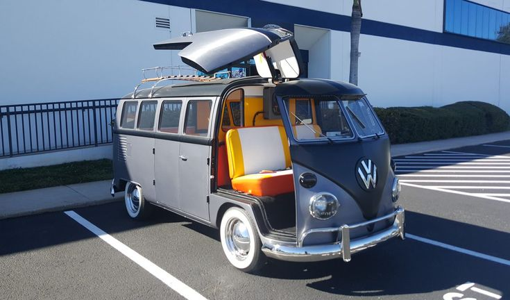 Cortland Finnegan's Back to the Future VW Bus For Sale