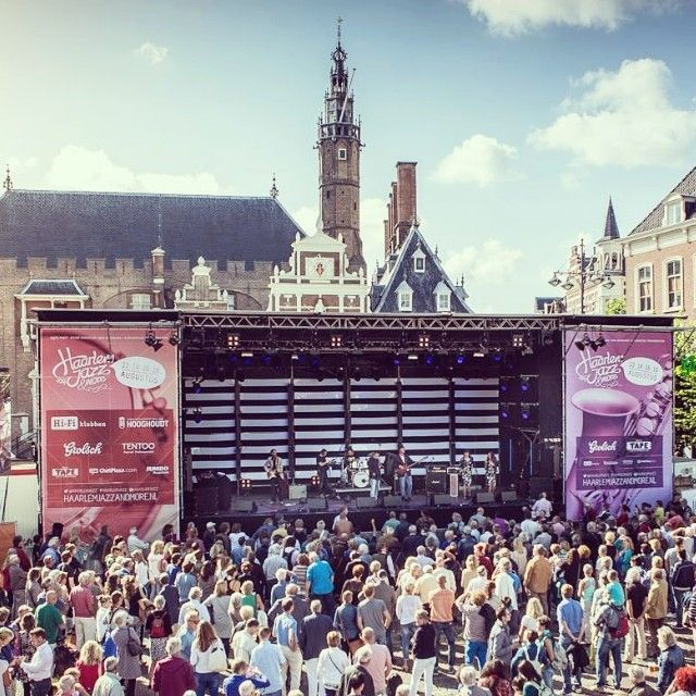 Het Jazz weekend! #haarlem #jazz #grotemarkt #haarlemjazz #weekend