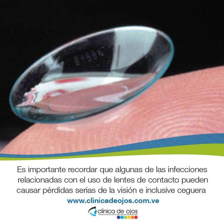 Es importante recordar que algunas de las infecciones relacionadas con el uso de lentes de contacto pueden causar pérdidas serias de la visión e inclusive ceguera, por lo que es importante que vea a su oftalmólogo tan pronto como sea posible para comenzar un tratamiento.