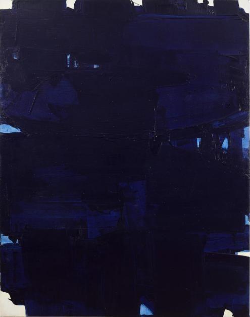 Pierre Soulages, Peinture 202 x 159 cm, 18 octobre 1967