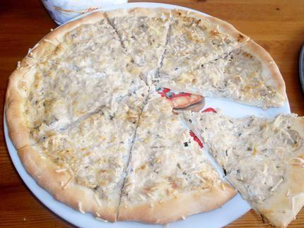 Pizza+thon+crème+fraiche