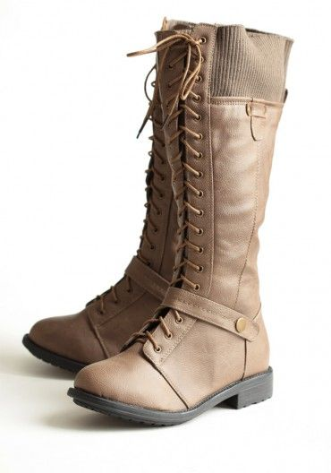 These are kicking ass and taking names. Be Mine, Boots. Please be mine.