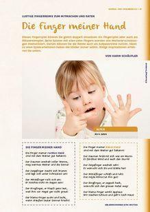 Dieses Fingerspiel können Sie gleich doppelt einsetzen: Als Fingerspiel oder auch als Rätselreimspiel. Beim Spielen mit allen zehn Fingern werden alle Wettererscheinungen thematisiert. Darum können Sie die Reime auch als Aufpassreime nutzen. Viel Spaß!