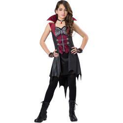 Totally Ghoul Halloween Urban Vampire Teen Girl Costume
