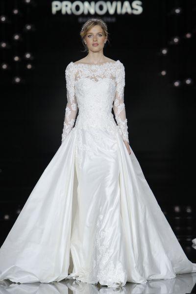 Vestidos de novia manga larga 2017: 60 diseños elegantes y con mucho estilo Image: 46
