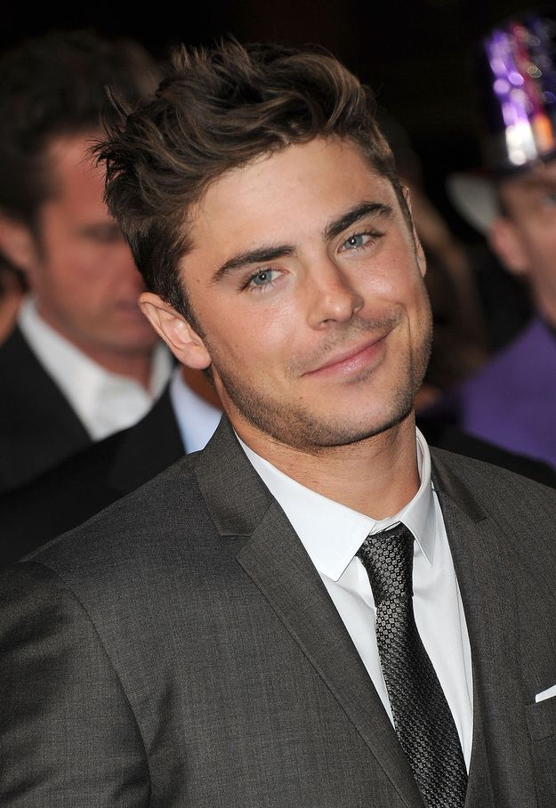 "Zac Efron being adorable he's just smirking like, ""You know you love me, I'm freaking adorable."""