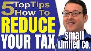 HMRC Self Assessment Income Tax Return Deductions and tax avoidance for the small limited company