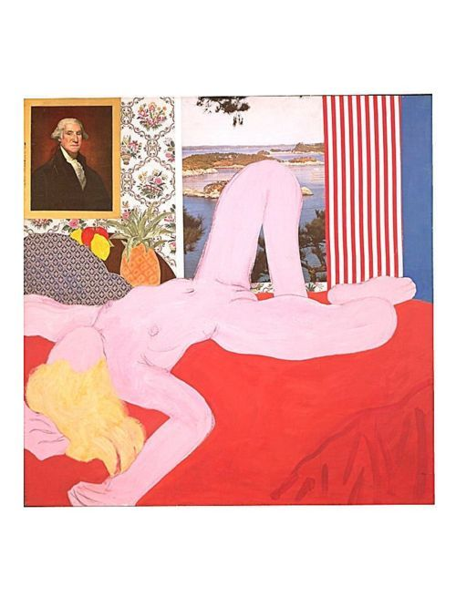 Great American Nude #4 (1961),  Tom Wesselmann.  Art Experience NYC…