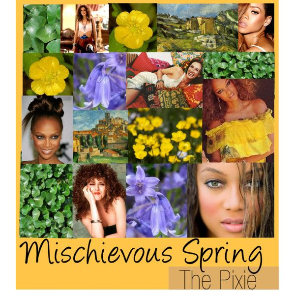 """Zyla Mischievous Spring"" by colorazione on Polyvore"