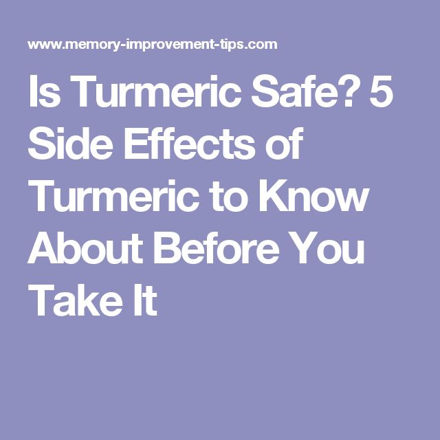 25+ best ideas about Side effects of turmeric on Pinterest ...
