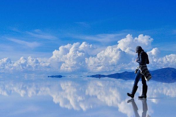 reflective salt flats in bolivia | reflective salt flats in Bolivia