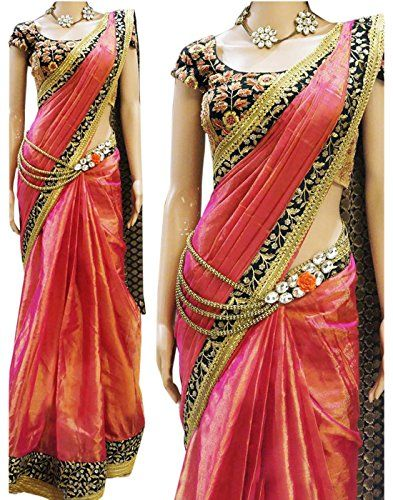 7thWonder Pink Color Paper Silk Embroidered Party Wear Saree with Heavy Work Blouse Piece-7WI135SENX-28 Check more at http://www.indian-shopping.in/product/7thwonder-pink-color-paper-silk-embroidered-party-wear-saree-with-heavy-work-blouse-piece-7wi135senx-28/