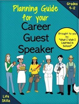 Career Guest Speaker Guidelines