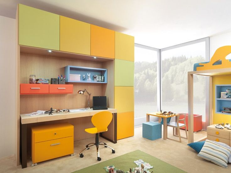 Встроенный шкаф для подростков - 9001 - http://mebelnews.com/vstroennyj-shkaf-dlya-podrostkov-9001
