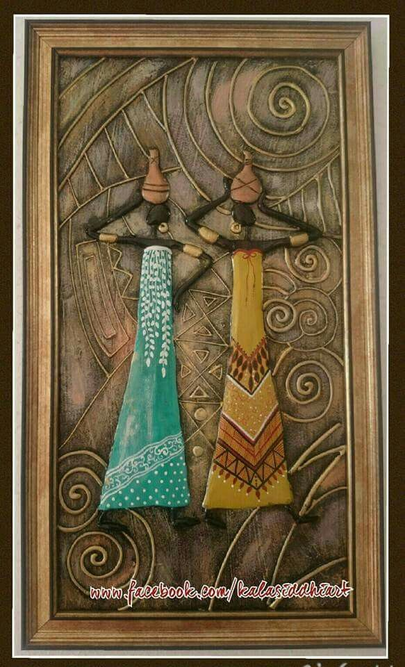 Pin By Shashi Dugesar On Papermache African Paintings Mural Art African Art