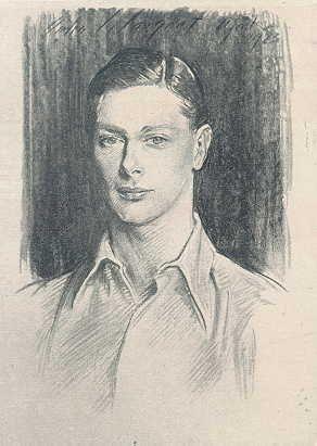 Duke of York, 1923 - by John Singer Sargent
