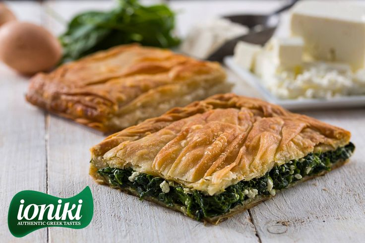 IONIKI  -  Authentic Greek Tastes / Real Feta Cheese with delicious Spinach!