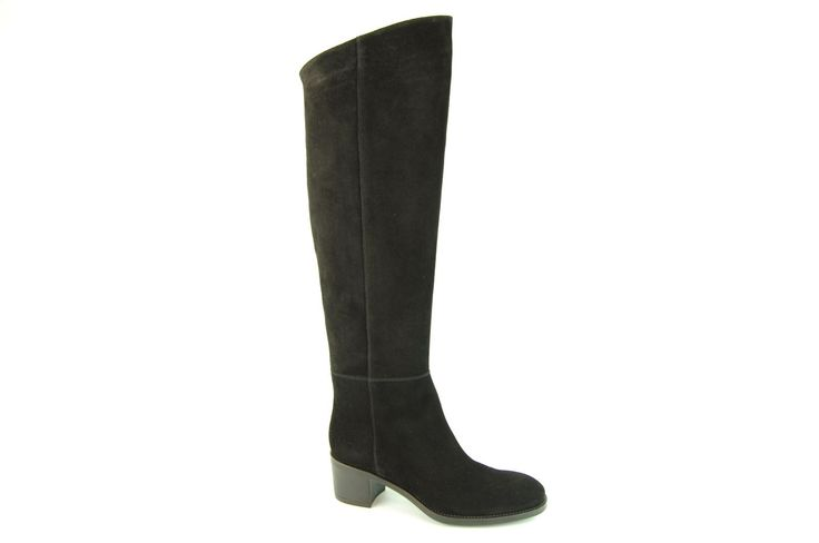 Santoni Milano laars zwart - boot black