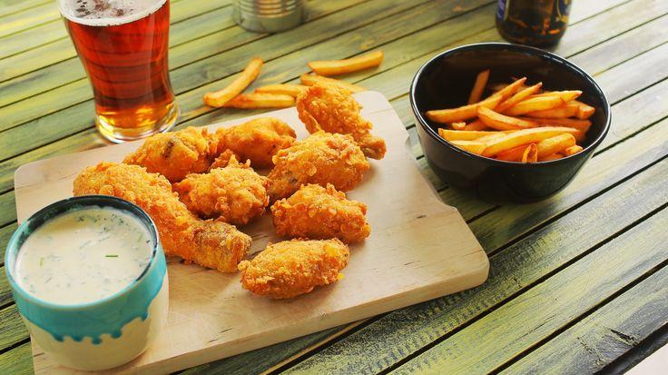 KFC csirkeszárny szósszal