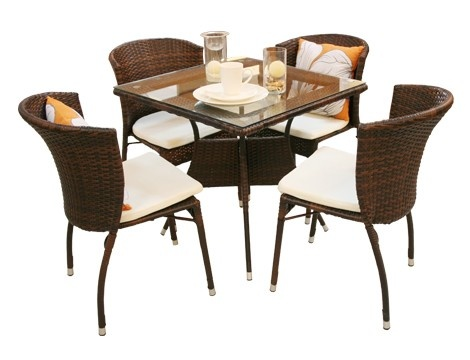 Exceptional 573 Square Table+477 Chair Dining Set 4+1 With Seat Cushion U2013 Mandaue Foam  15k | Interior | Pinterest | Square Tables, Seat Cushions And Squares Part 22