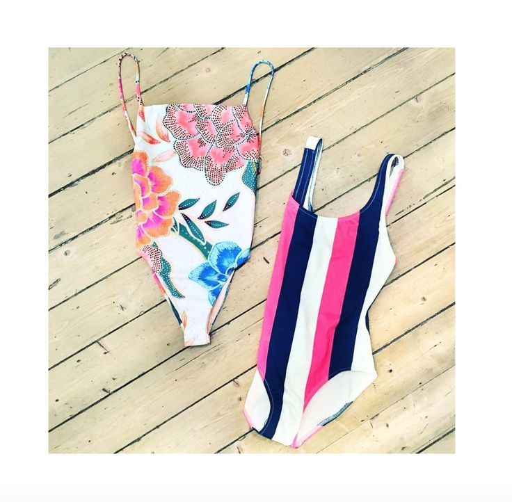 Beach Vibes 😍✌🏼 @marahoffman Arcadia tank one piece and @solidandstriped The Anne-Marie Navy Pink Cream Stripe - Available online and instore now!! #marahoffman #solidandstriped #swimsuit #beach #holiday #stripes #floral #summer #fashion #beachwear #love #shopping #boutique