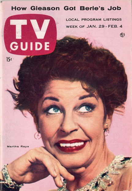 Martha Raye  January 29-February 4 1955