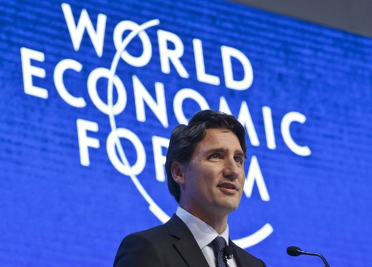 Justin Trudeau: 'There has never been a better time to look to Canada'