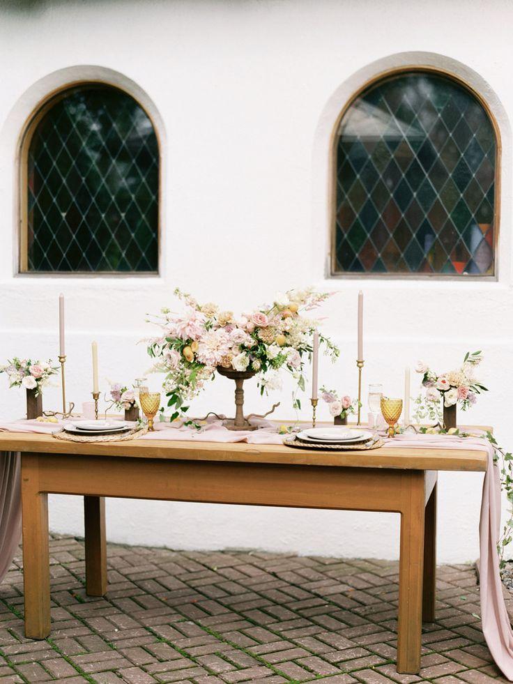 Gorgeous wedding tablescape | photo by Elena Pavlova | Fab Mood - UK wedding blog #styledshoot