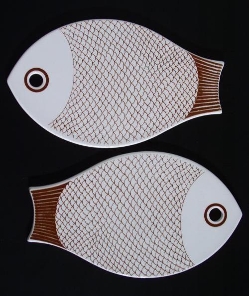 Arabia fish trivets